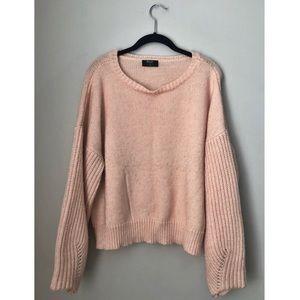 faded pink nastygal sweater